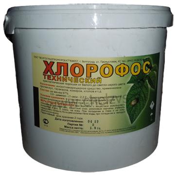 инструкция по применению хлорофоса - фото 11